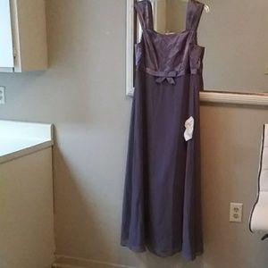 Evening Gown Lavender/scarf